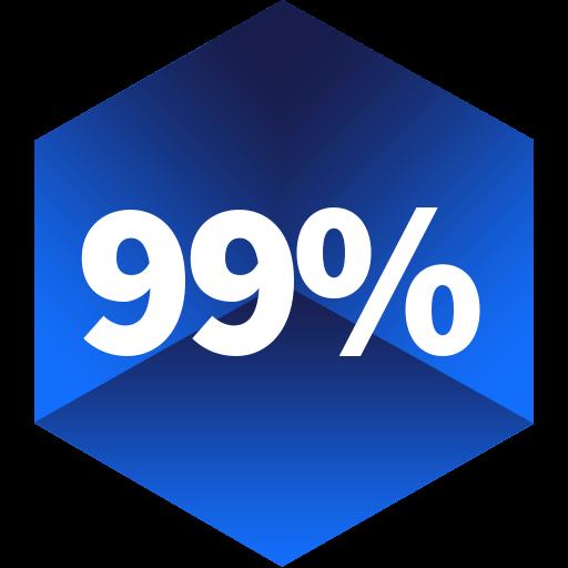 99% rendelkezésre állás